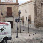 Mudanza en el casco histórico de Toledo