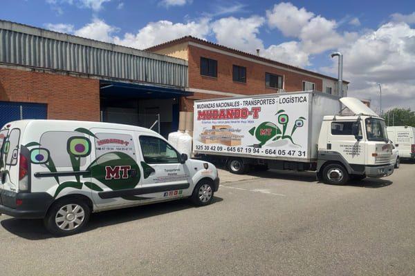 Empresa de transportes y mudanzas en Toledo