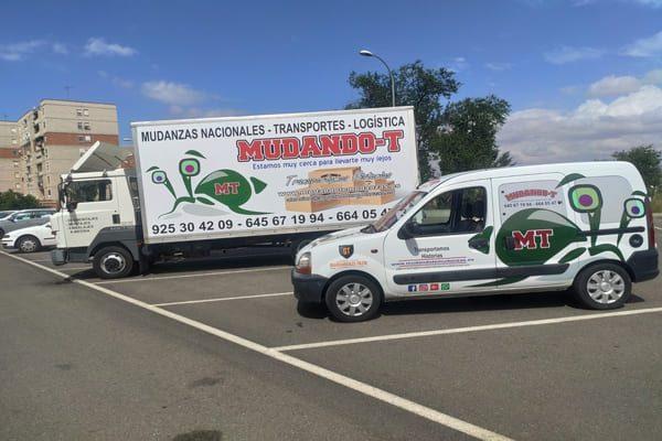 Mudando-T Mudanzas y transportes en Toledo económicos