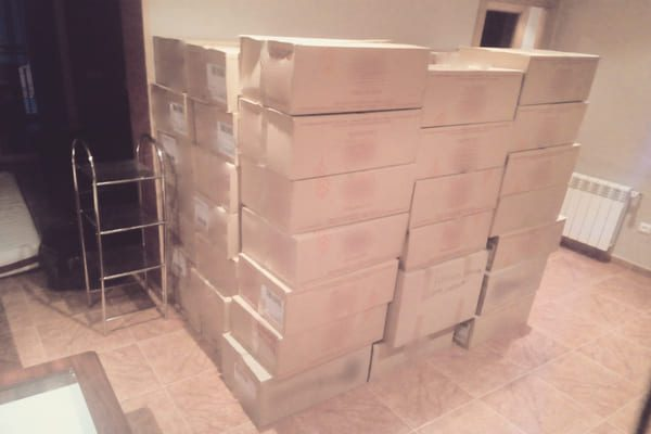 embalar cajas mudanza